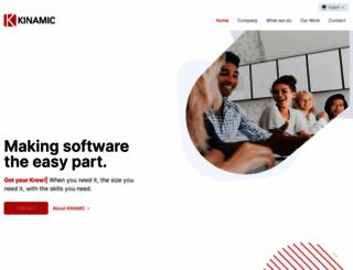 kinamic.com screenshot