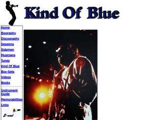kind-of-blue.de screenshot