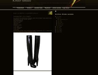 kinder-sandale.blogspot.de screenshot