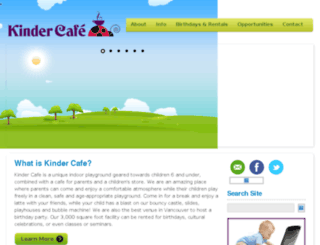 kindercafe.ca screenshot