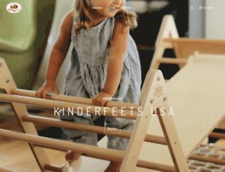 kinderfeets.bigcartel.com screenshot