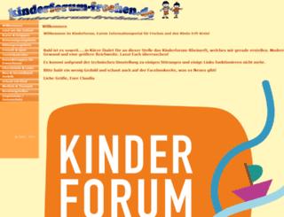 kinderforum-frechen.de screenshot