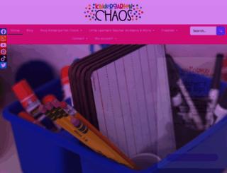 kindergartenchaos.com screenshot