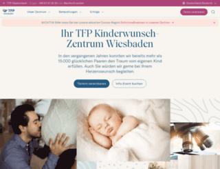 kinderwunschzentrumwiesbaden.de screenshot