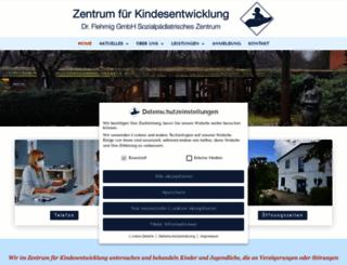 kindesentwicklung.com screenshot