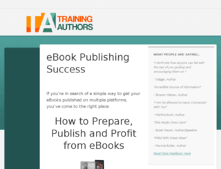 kindle.self-publishing-coach.com screenshot