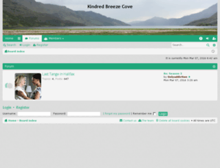 kindredbreezecove.com screenshot