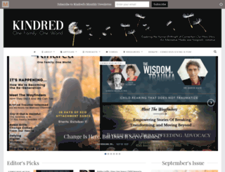 kindredmedia.org screenshot