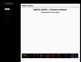 kinetic-lights.com screenshot