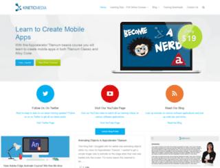 kinetic-media.com screenshot
