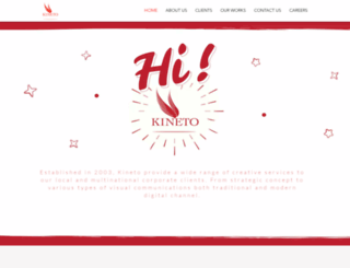 kineto.biz screenshot