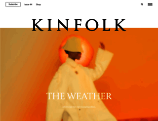kinfolk.com screenshot