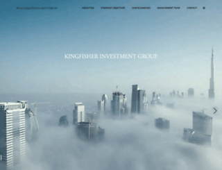 kingfisherig.com screenshot