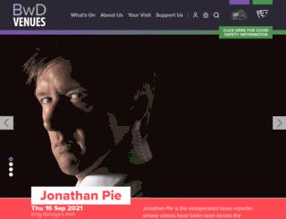 kinggeorgeshall.com screenshot