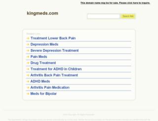 kingmeds.com screenshot