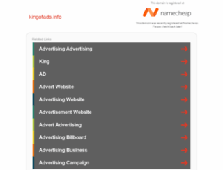 kingofads.info screenshot
