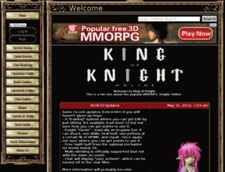 kingofknight.com screenshot