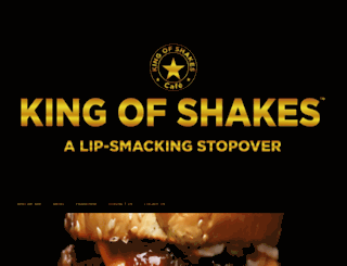 kingofshakes.in screenshot