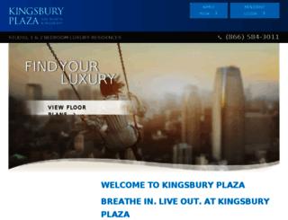 kingsburyplaza.securecafe.com screenshot