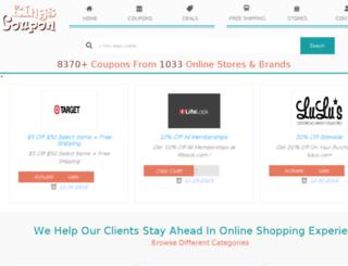 kingscoupon.com screenshot
