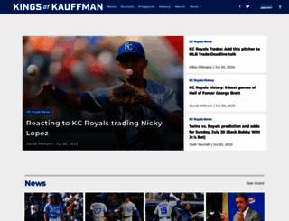 kingsofkauffman.com screenshot
