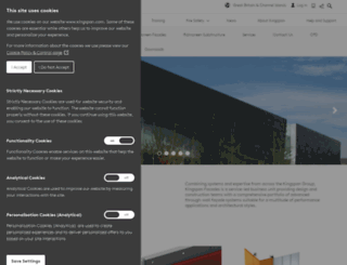 kingspanbenchmark.com screenshot