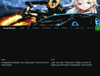 kingsplanet.net screenshot