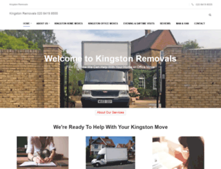 kingston-removals.org screenshot