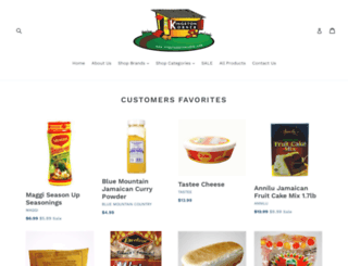 kingstonkornershop.com screenshot