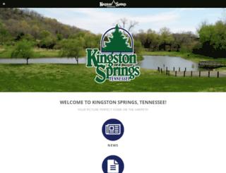 kingstonsprings.net screenshot