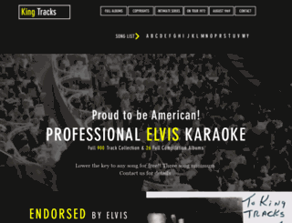 kingtracks.com screenshot