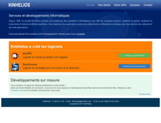 kinhelios.com screenshot