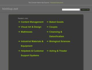 kinhlup.net screenshot