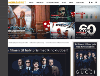 kinomagasinet.no screenshot