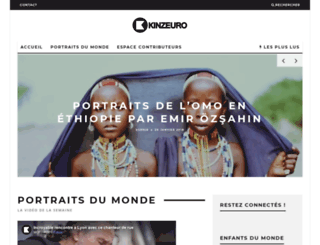 kinzeuro.fr screenshot