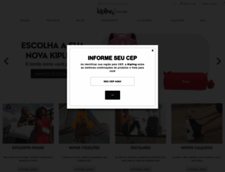 kipling.com.br screenshot