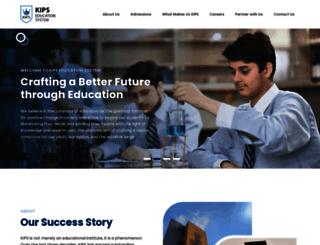 kips.edu.pk screenshot