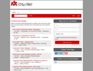 kirbyrisk.hirecentric.com screenshot