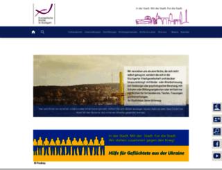 kirchen-info.de screenshot