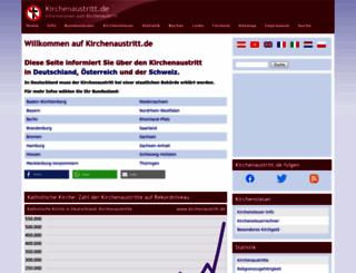 kirchenaustritt.de screenshot
