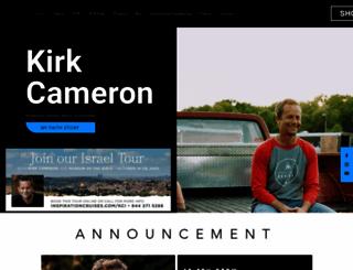 kirkcameron.com screenshot