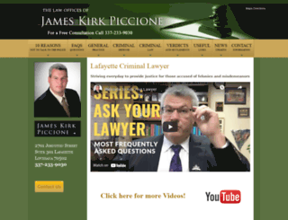kirkpiccione.com screenshot