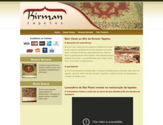 kirmantapetes.com screenshot