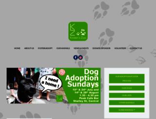 kirstenszoo.com screenshot