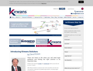 kirwanssolicitors.co.uk screenshot