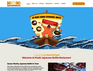 kisekirestaurant.com.sg screenshot