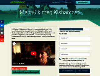 kishantosert.hu screenshot