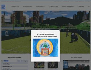 kisseoul.org screenshot