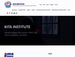 kitainstitute.org screenshot