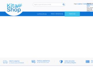 kitashop.com.br screenshot